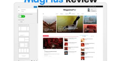 review of magplus wordpress magazine theme